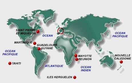 Sites utiles francophones (Dom-Tom)
